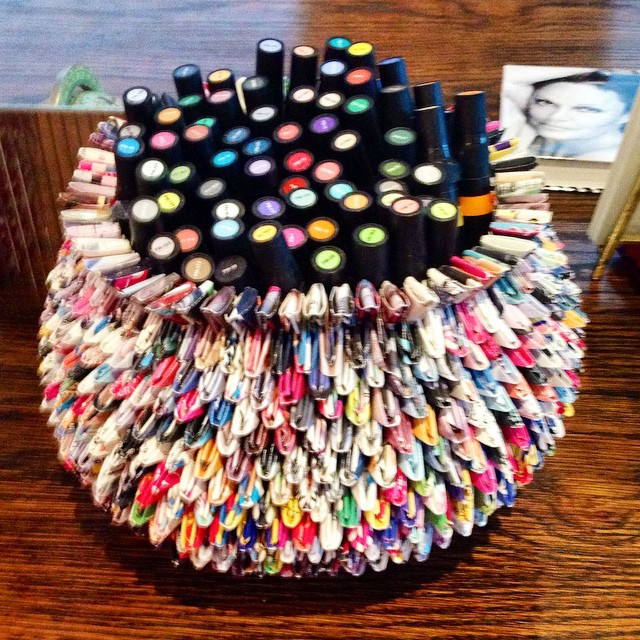 Our-most-favorite-item-in-dvfs-office-This-super-cool-marker-holder-on-Dianes-desk-made-entirely-of-