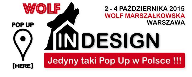 WOLF IN DESIGN - Pop Up [HERE]